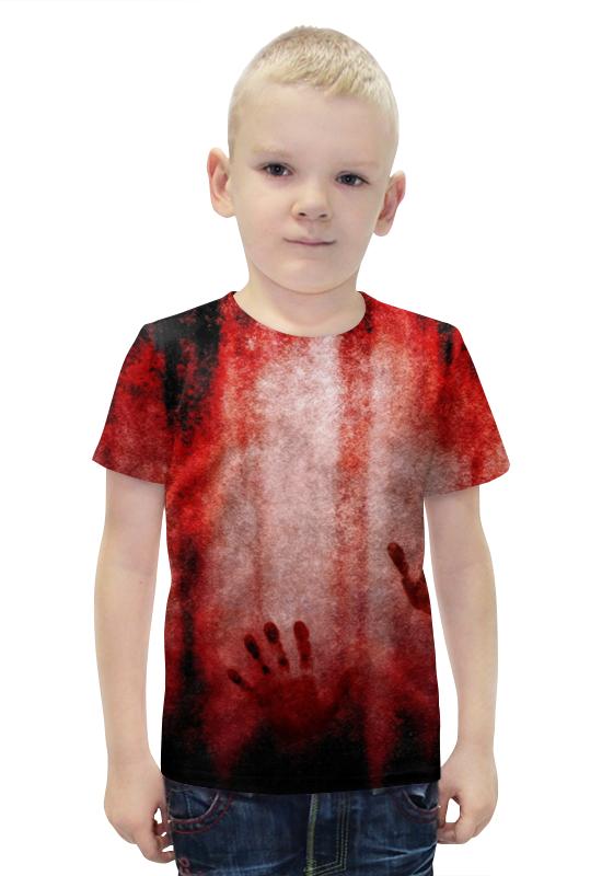 Футболка с полной запечаткой для мальчиков Printio Blood футболка с полной запечаткой для мальчиков printio bats spawn arsb