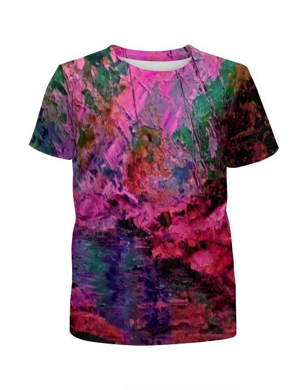 Футболка с полной запечаткой для мальчиков Printio Краски лета футболка с полной запечаткой для девочек printio жидкие краски