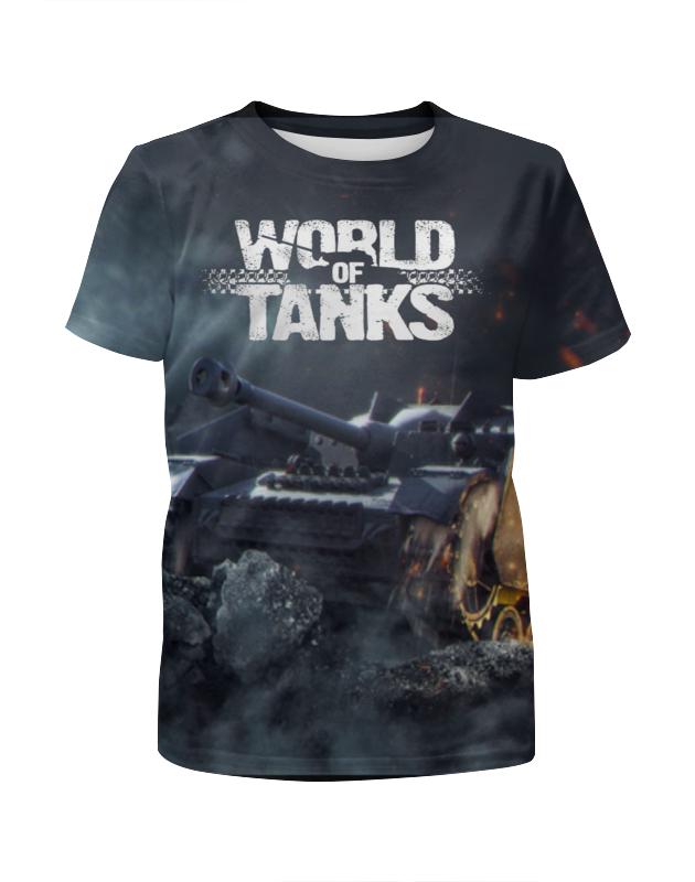 Футболка с полной запечаткой для мальчиков Printio World of tanks