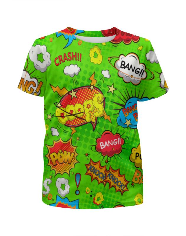 Футболка с полной запечаткой для мальчиков Printio Кислотный арт