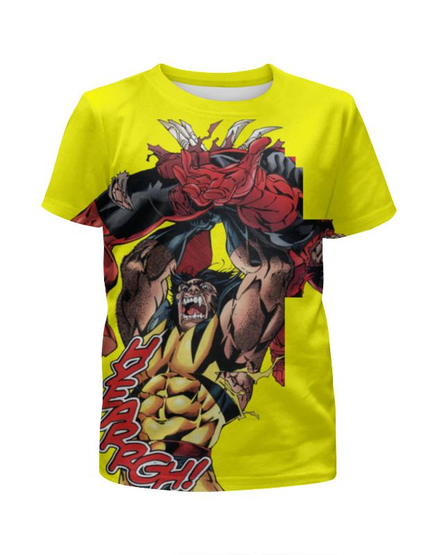 цены Printio Deadpool vs wolverine