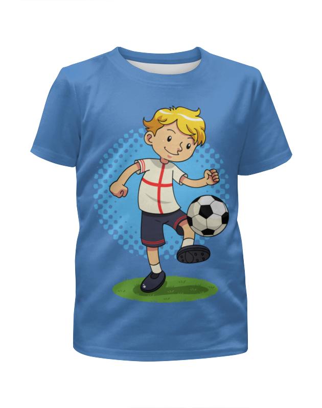 Футболка с полной запечаткой для мальчиков Printio Футбол футболка с полной запечаткой для мальчиков printio футбол