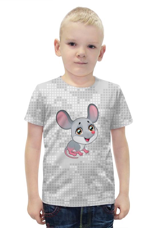 Футболка с полной запечаткой для мальчиков Printio Мышонок футболка с полной запечаткой для мальчиков printio bats spawn arsb