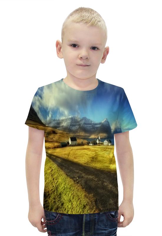 Футболка с полной запечаткой для мальчиков Printio Деревня футболка с полной запечаткой для мальчиков printio bats spawn arsb