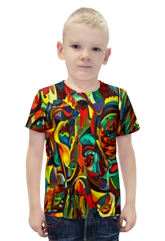 Футболка с полной запечаткой для мальчиков Printio Картина футболка с полной запечаткой для девочек printio картина