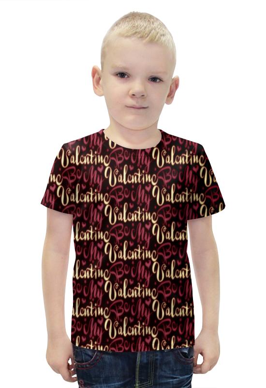 Футболка с полной запечаткой для мальчиков Printio Valentine футболка с полной запечаткой для мальчиков printio bats spawn arsb