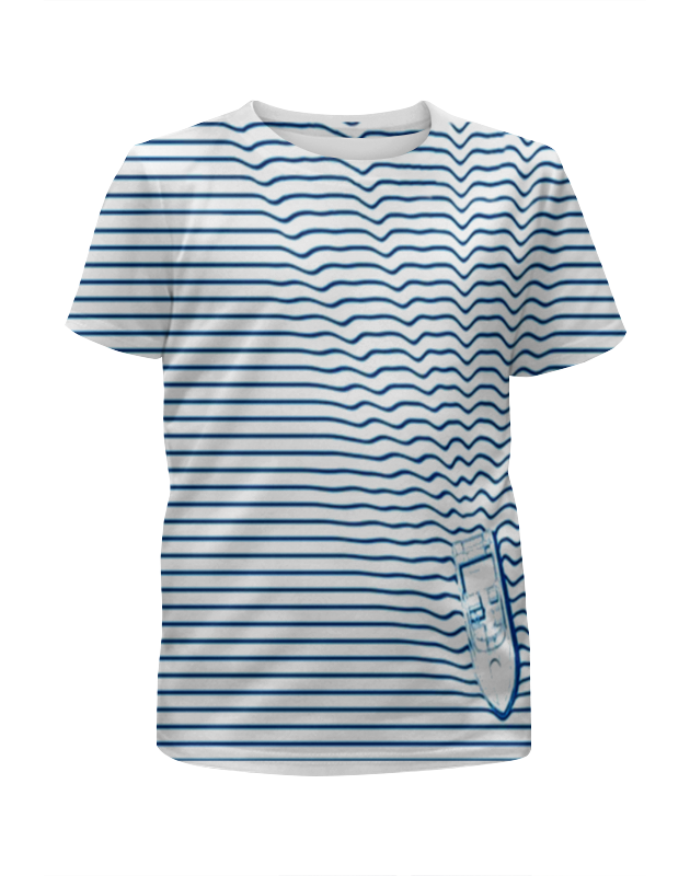 Футболка с полной запечаткой для мальчиков Printio Лодка (1) платье без рукавов printio семейная лодка