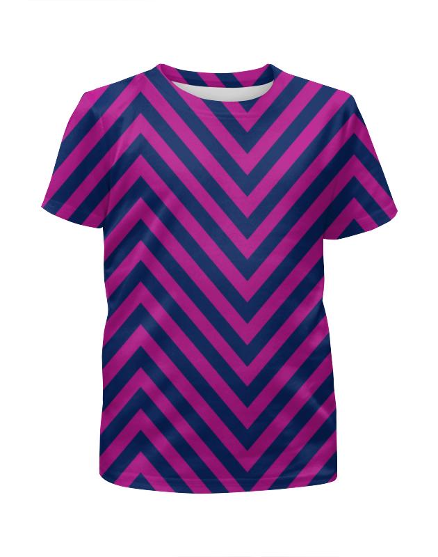Футболка с полной запечаткой для мальчиков Printio Фиолетовые полосы футболка с полной запечаткой женская printio фиолетовые полосы