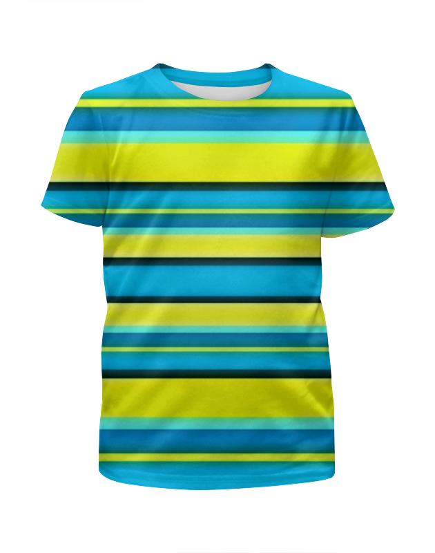 Футболка с полной запечаткой для мальчиков Printio Яркие линии футболка с полной запечаткой женская printio линии