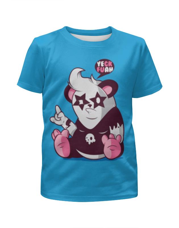 Футболка с полной запечаткой для мальчиков Printio Панда 3d футболка с полной запечаткой для девочек printio панда