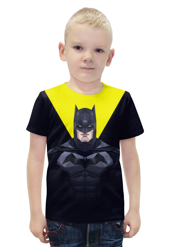 Футболка с полной запечаткой для мальчиков Printio Batman