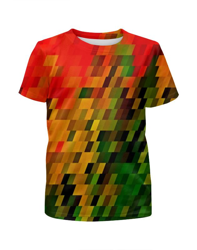Футболка с полной запечаткой для мальчиков Printio Необычные кубики футболка print bar кубики