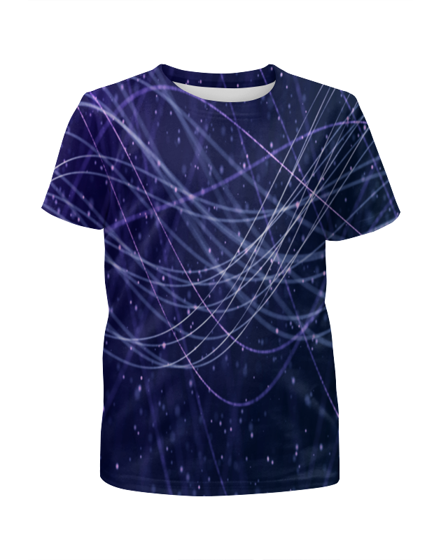 Футболка с полной запечаткой для мальчиков Printio Узор линии футболка с полной запечаткой для мальчиков printio bats spawn arsb