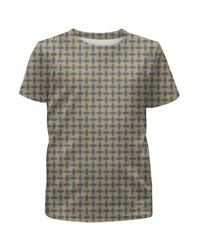 Футболка с полной запечаткой для мальчиков Printio Геометрический орнамент футболка с полной запечаткой для мальчиков printio геометрический орнамент