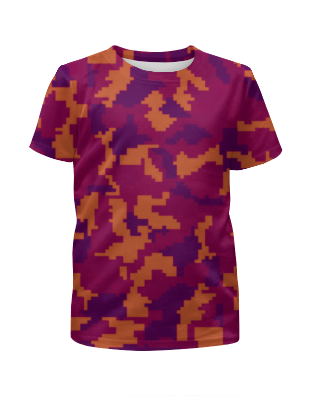Футболка с полной запечаткой для мальчиков Printio Camouflage night футболка с полной запечаткой для мальчиков printio camouflage brown