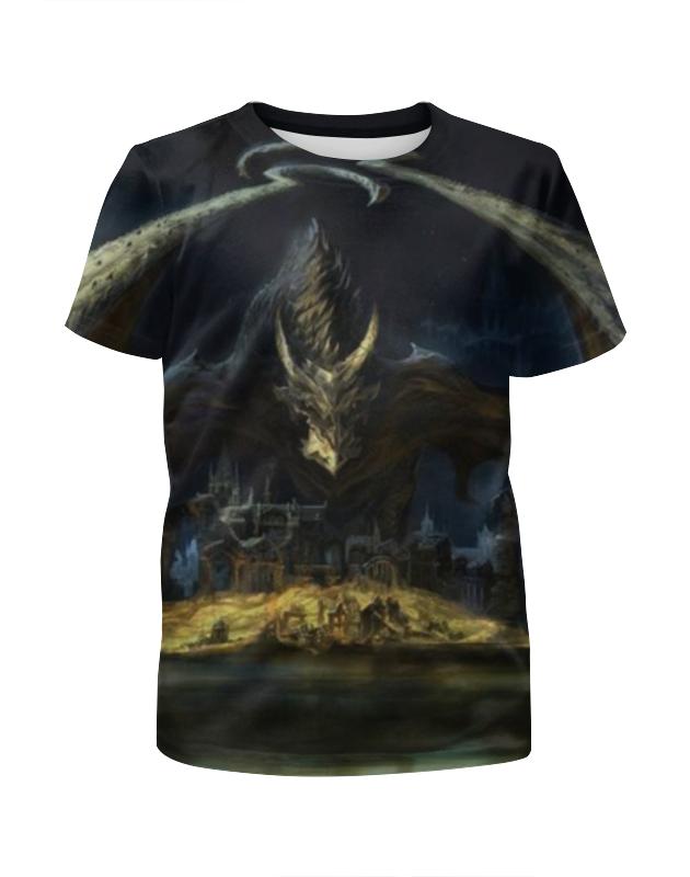 Футболка с полной запечаткой для мальчиков Printio Дракон футболка с полной запечаткой для мальчиков printio дракон