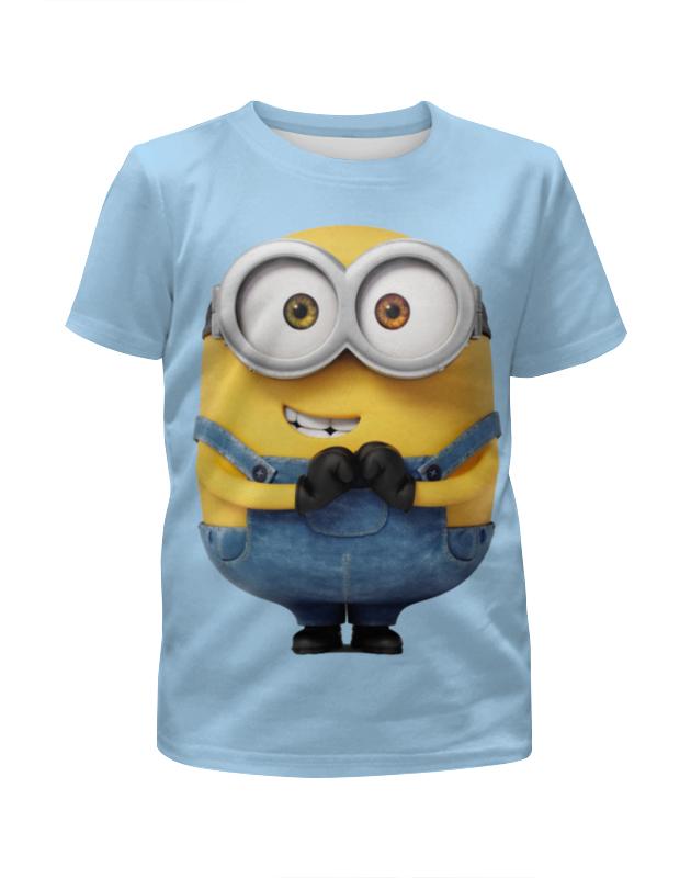 Футболка с полной запечаткой для мальчиков Printio Миньоны футболка с полной запечаткой для мальчиков printio криминальные миньоны