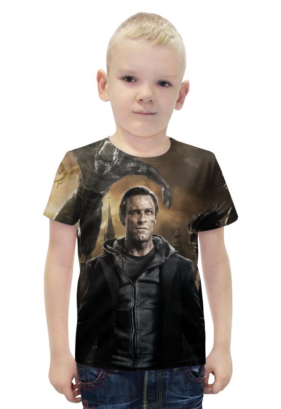 Футболка с полной запечаткой для мальчиков Printio Франкенштейн футболка с полной запечаткой для мальчиков printio bats spawn arsb
