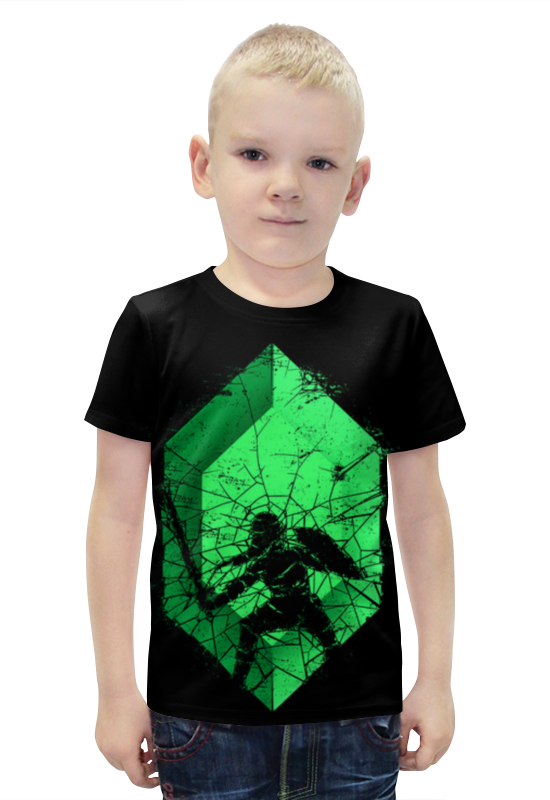 Футболка с полной запечаткой для мальчиков Printio Воин футболка с полной запечаткой для мальчиков printio bats spawn arsb