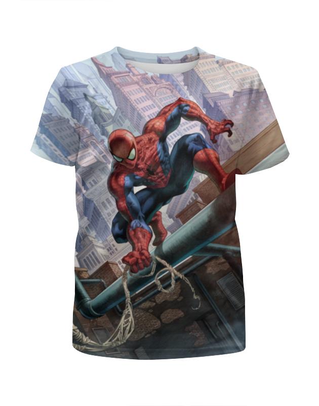 Футболка с полной запечаткой для мальчиков Printio Spider-man набор канцелярский spider man 2 пр