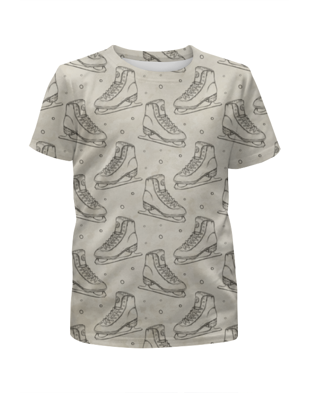Футболка с полной запечаткой для мальчиков Printio Коньки футболка с полной запечаткой для мальчиков printio на отдых
