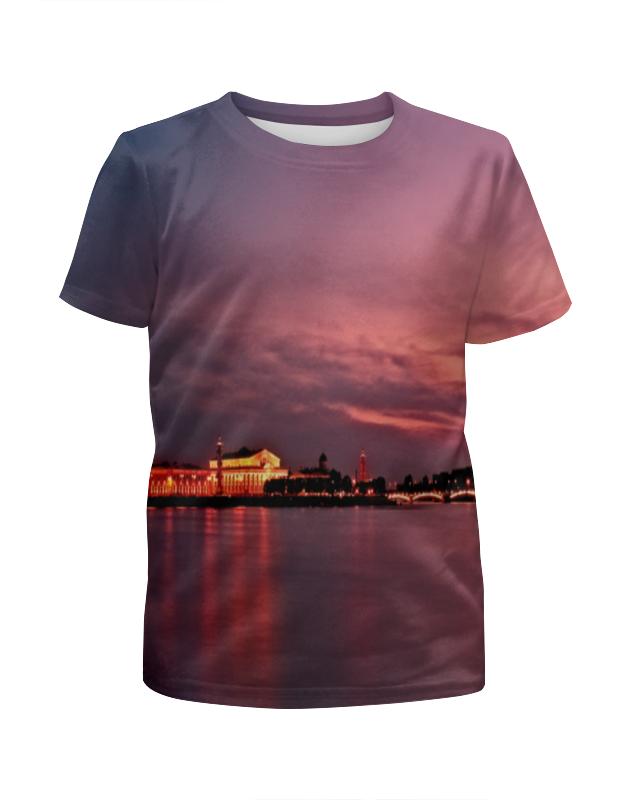 Футболка с полной запечаткой для мальчиков Printio Санкт-петербург футболка с полной запечаткой мужская printio санкт петербург