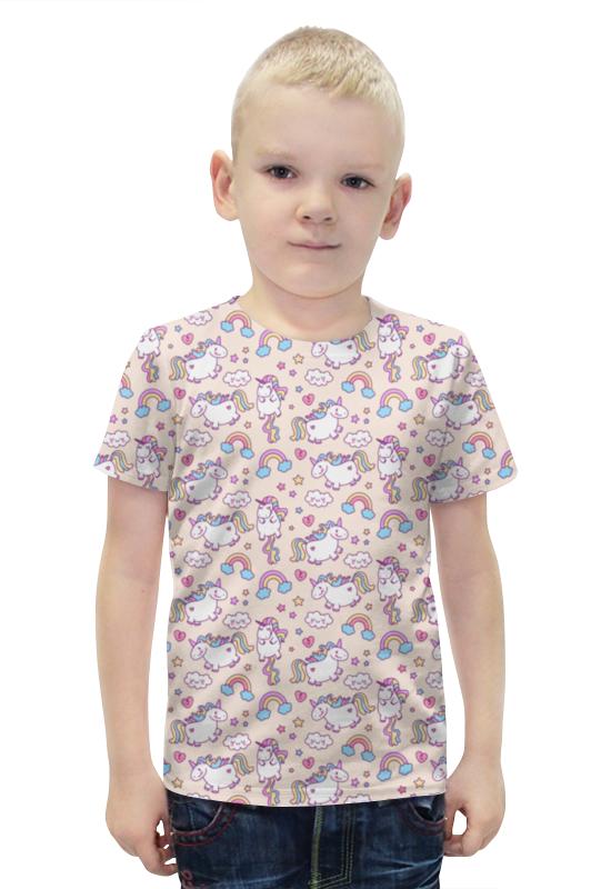 Футболка с полной запечаткой для мальчиков Printio Единороги футболка с полной запечаткой для мальчиков printio bats spawn arsb