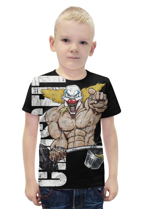 Футболка с полной запечаткой для мальчиков Printio Crossfit футболка с полной запечаткой для мальчиков printio bats spawn arsb