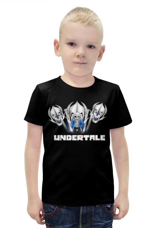 Футболка с полной запечаткой для мальчиков Printio Undertale футболка с полной запечаткой для мальчиков printio bats spawn arsb