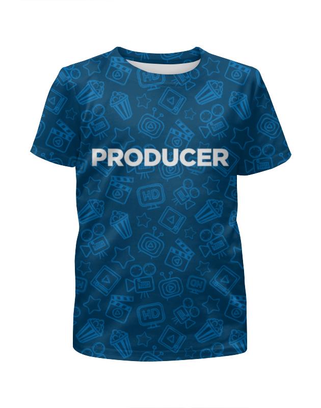 Футболка с полной запечаткой для мальчиков Printio Producer (продюсер) mackie onyx producer