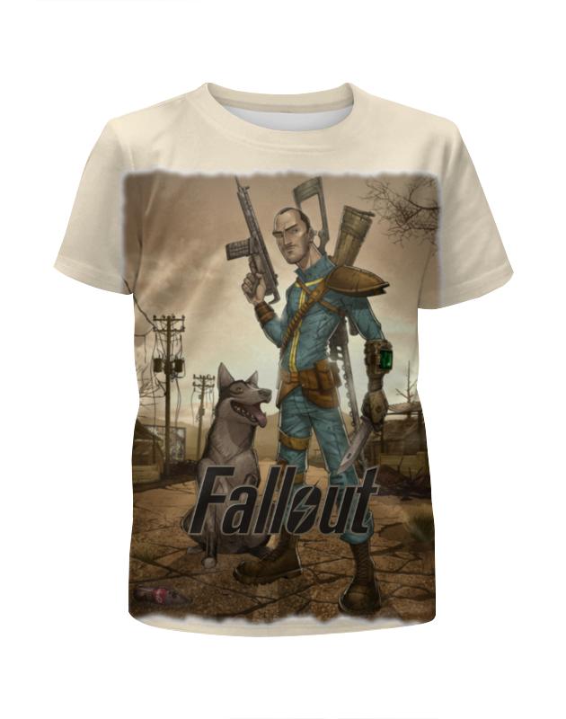 Футболка с полной запечаткой для мальчиков Printio Fallout game футболка с полной запечаткой для мальчиков printio bats spawn arsb