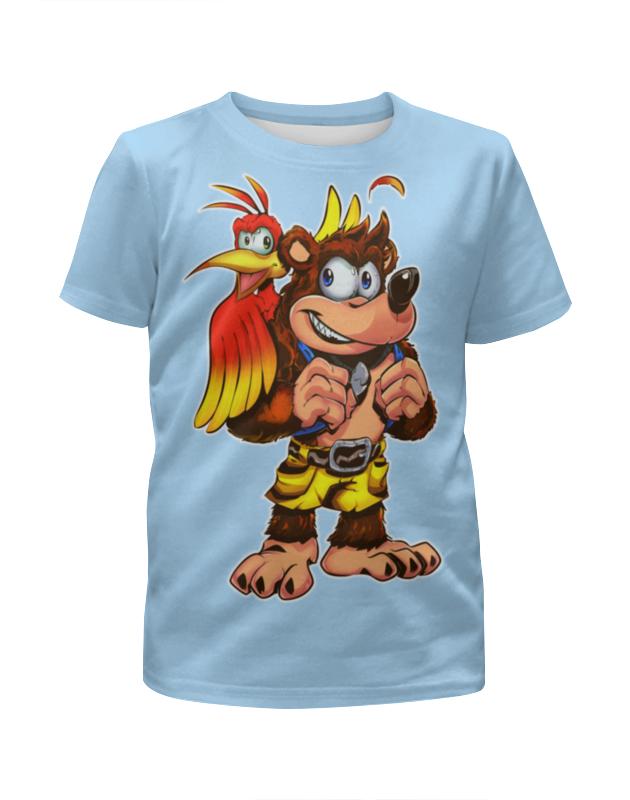 Футболка с полной запечаткой для мальчиков Printio Собачка с попугаем футболка с полной запечаткой для мальчиков printio собачка