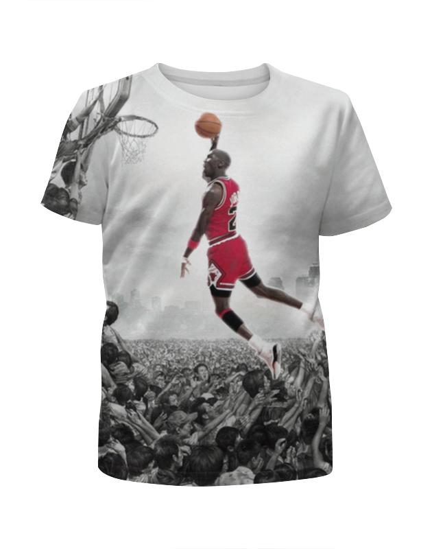 Футболка с полной запечаткой для мальчиков Printio Майкл джордан (michael jordan) футболка с полной запечаткой для мальчиков printio майкл джордан nba