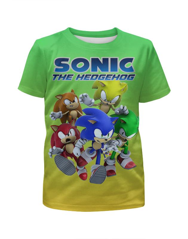 Printio Соник/sonic. видеоигры футболка с полной запечаткой для мальчиков printio sonic