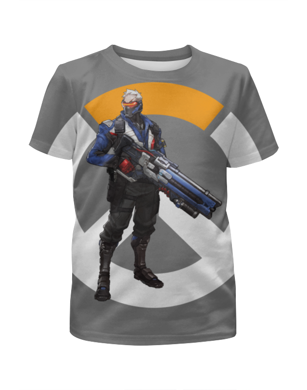 Printio Overwatch soldier 76 / овервотч солдат 76 цена и фото