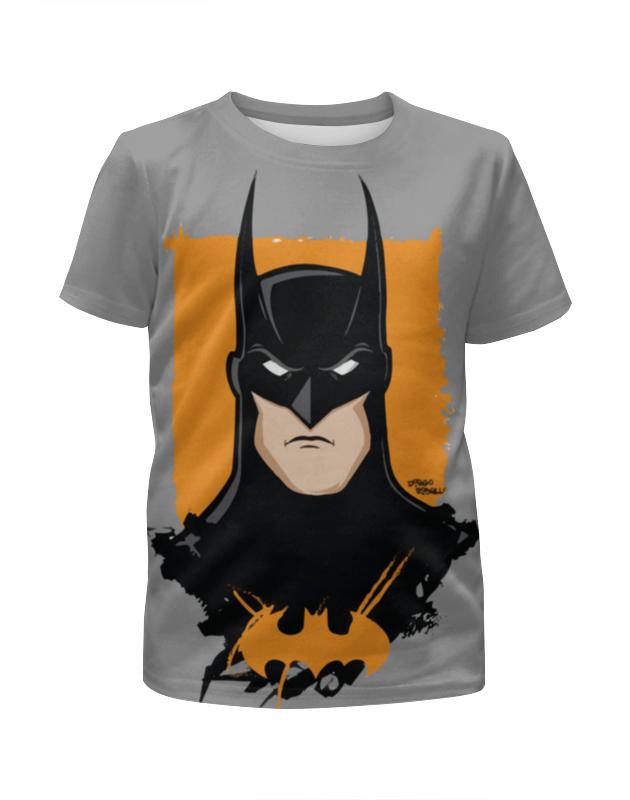 Футболка с полной запечаткой для мальчиков Printio Batman/бэтмен футболка с полной запечаткой для мальчиков printio batman x joker бэтмен