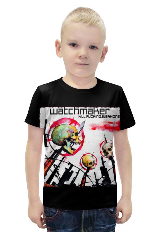 Футболка с полной запечаткой для мальчиков Printio Watchmaker band