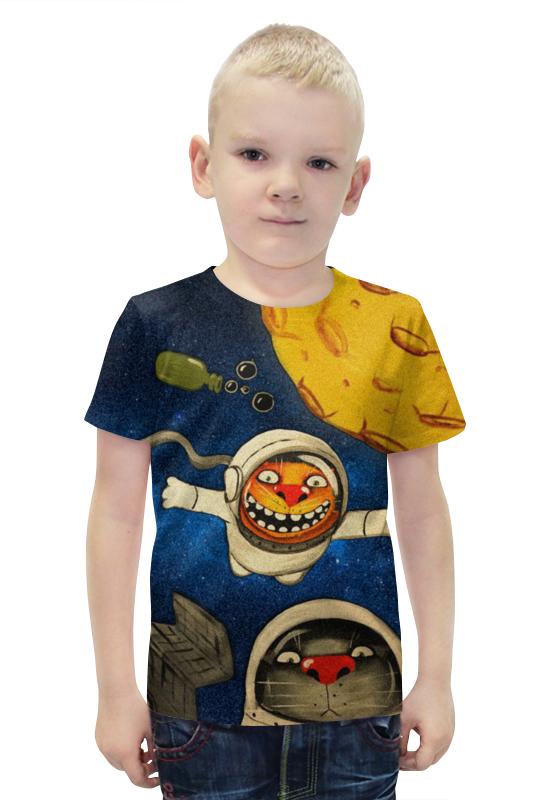 Футболка с полной запечаткой для мальчиков Printio Астрокоты футболка с полной запечаткой для мальчиков printio bats spawn arsb