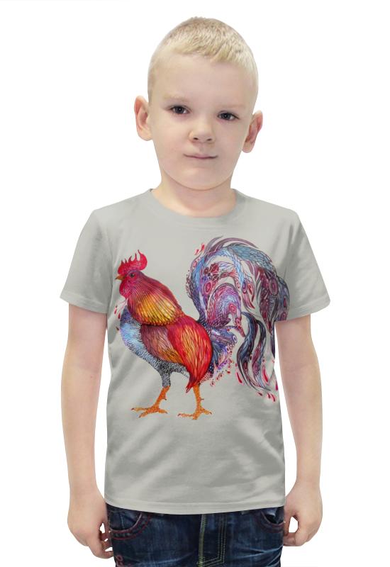 Футболка с полной запечаткой для мальчиков Printio Петух футболка с полной запечаткой для мальчиков printio slove arsb