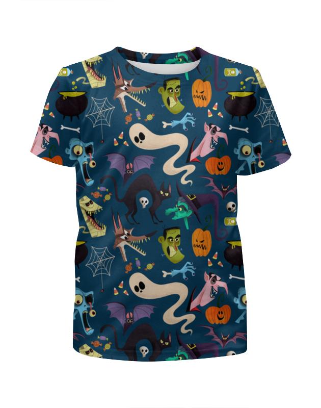 Футболка с полной запечаткой для мальчиков Printio Хеллоуин футболка с полной запечаткой для мальчиков printio пес летчик