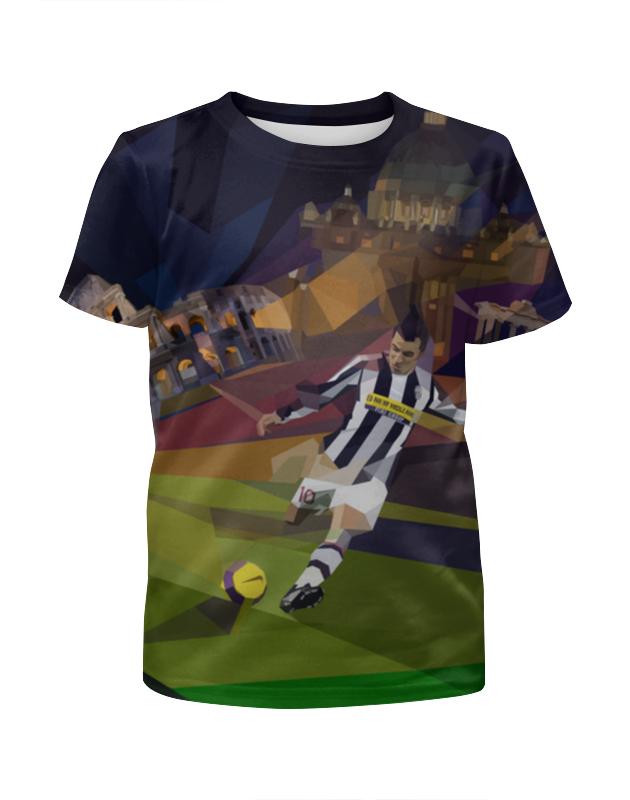 Футболка с полной запечаткой для мальчиков Printio Футбольная мозайка футболка с полной запечаткой для мальчиков printio футбольная мозайка фернандо торрес
