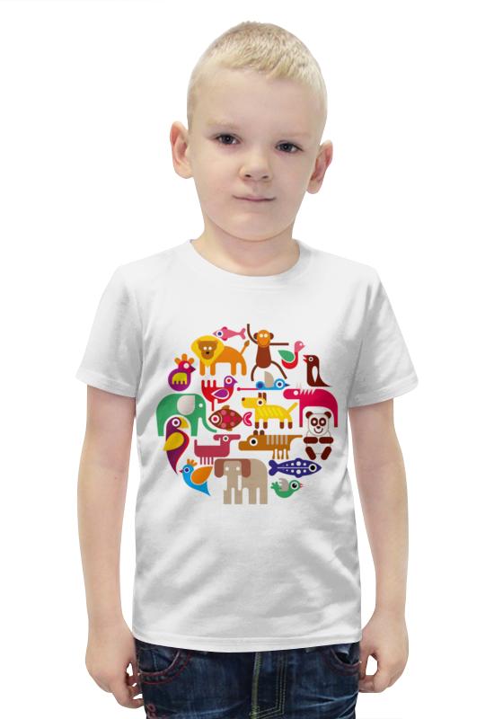 Футболка с полной запечаткой для мальчиков Printio Животные футболка с полной запечаткой для мальчиков printio bats spawn arsb