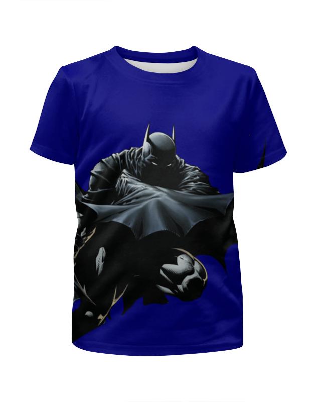 Футболка с полной запечаткой для мальчиков Printio Бэтмен футболка с полной запечаткой для мальчиков printio braaaaatnsssss