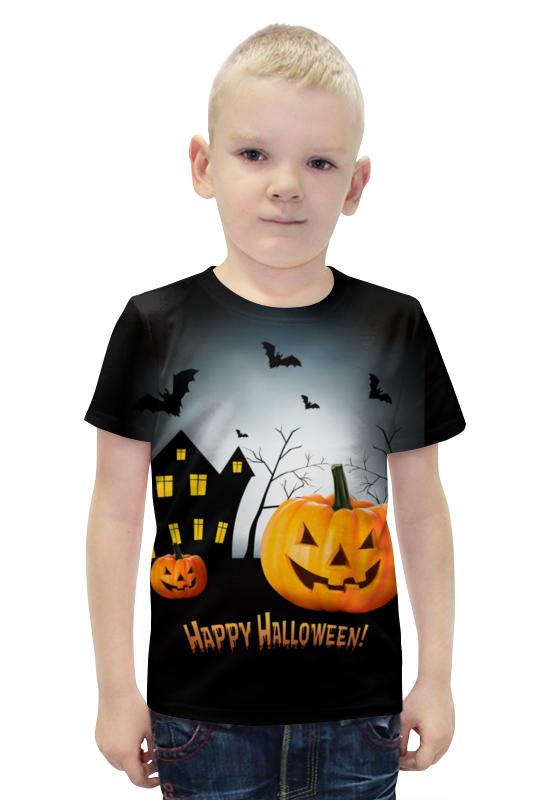 Футболка с полной запечаткой для мальчиков Printio Happy halloween! футболка с полной запечаткой для мальчиков printio ночь всех святых