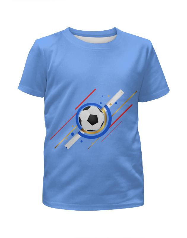 Футболка с полной запечаткой для мальчиков Printio Футбол цены онлайн
