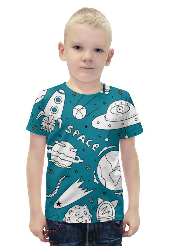 Футболка с полной запечаткой для мальчиков Printio Space футболка с полной запечаткой для мальчиков printio bats spawn arsb