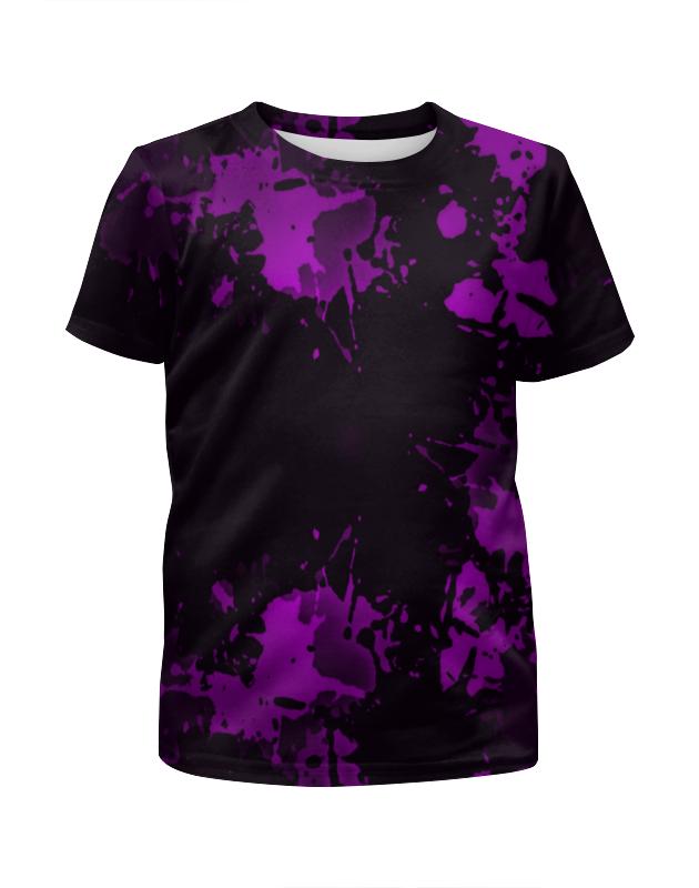 Футболка с полной запечаткой для мальчиков Printio Брызги красок футболка с полной запечаткой мужская printio буря красок