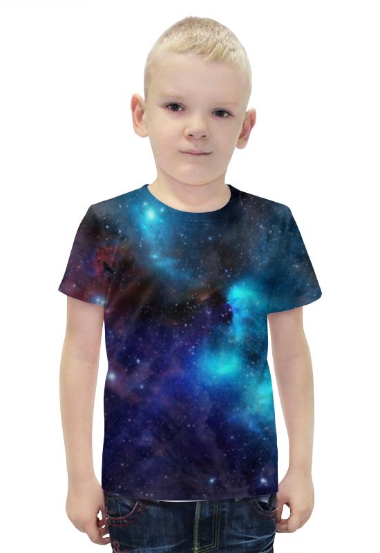 Футболка с полной запечаткой для мальчиков Printio Туманность футболка с полной запечаткой для мальчиков printio slove arsb