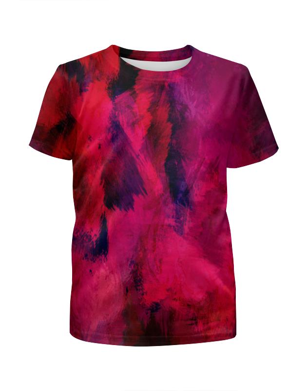 Футболка с полной запечаткой для мальчиков Printio Оттенки красок футболка с полной запечаткой мужская printio буря красок