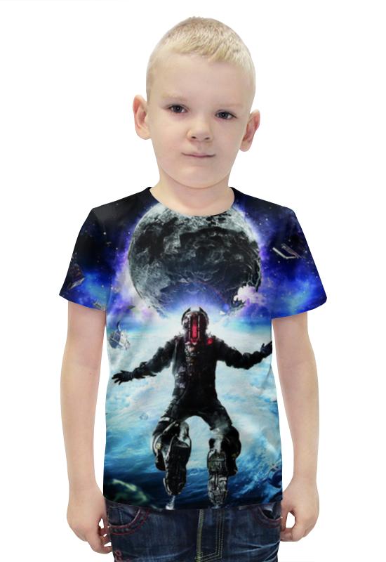 Футболка с полной запечаткой для мальчиков Printio Мёртвый космос (dead space) как костюмы в dead space 3